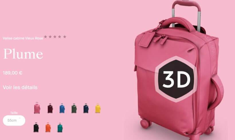 Produkty Lipault ve 3D